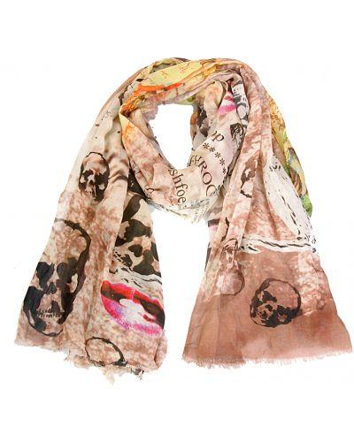 Коричневый шарф осенний Passigatti
