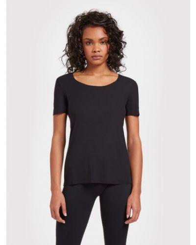Czarna t-shirt Wolford