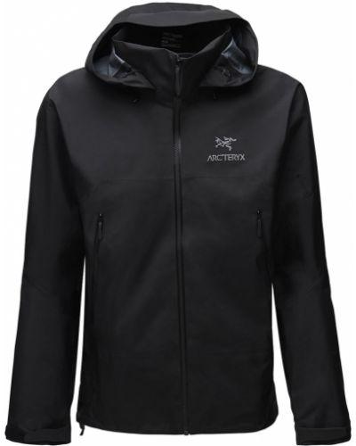 Нейлоновая куртка с карманами с капюшоном на молнии Arcteryx