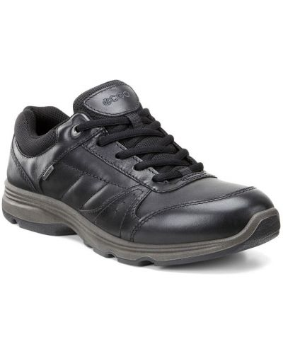 Кроссовки черные мембранные Ecco