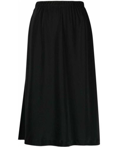 Черная шелковая юбка Equipment