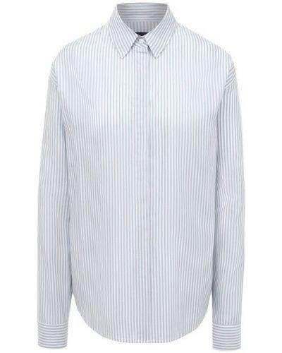 Хлопковая рубашка - синяя Rta