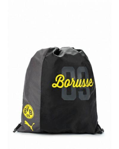 Черная сумка мешок Puma