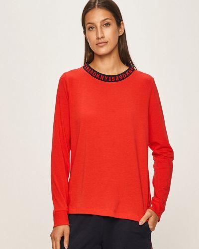 Рубашка с длинным рукавом с карманами красный Dkny