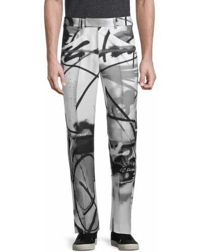 Spodnie z paskiem - białe Off-white