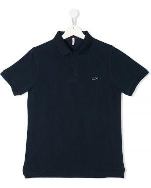 Классическая рубашка на пуговицах в рубчик Sun 68