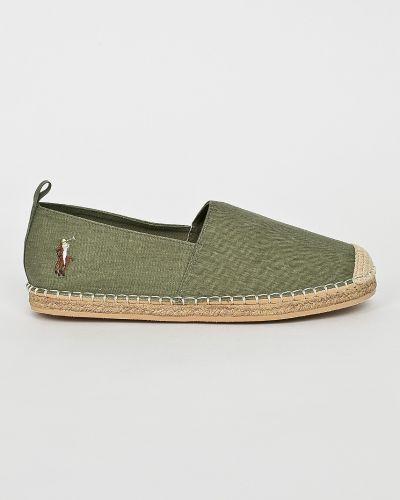 Эспадрильи зеленый Polo Ralph Lauren