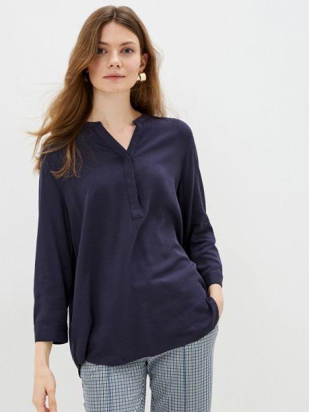 Блузка с длинным рукавом синяя весенний Concept Club