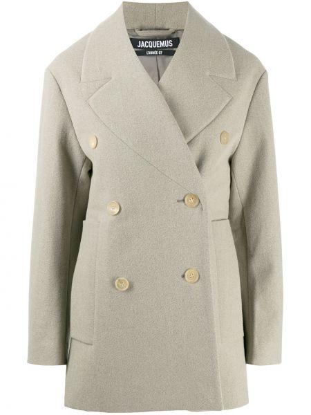 Długi płaszcz wełniany Jacquemus