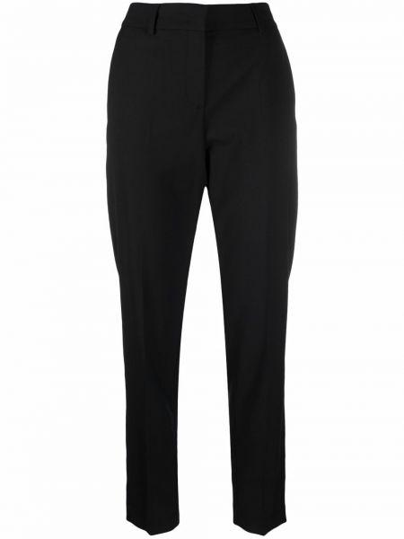 Черные брюки с поясом Ps Paul Smith