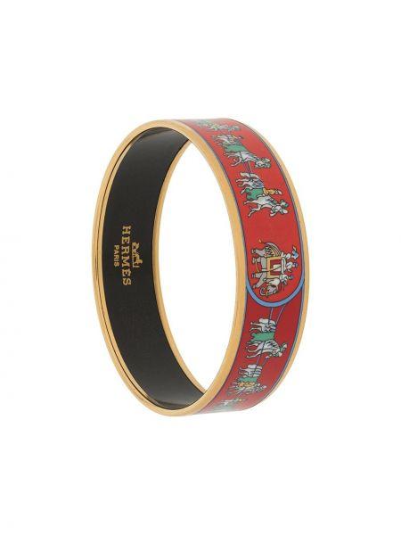 Złota bransoletka ze złota pozłacana Hermes