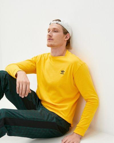Желтая футболка Adidas Originals