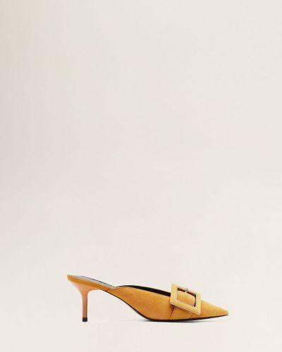 Сандалии на каблуке Mango