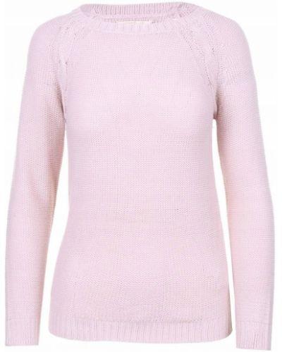 Klasyczny różowy sweter z akrylu Reserved