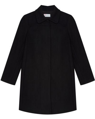 Укороченное пальто демисезонное однобортное Red Valentino