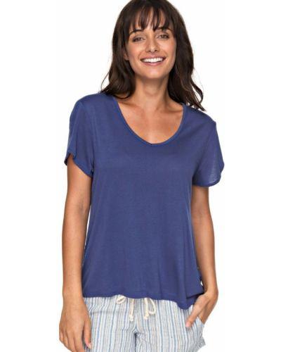 Синяя блузка Roxy
