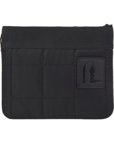 Текстильная барсетка - черная Trussardi Jeans