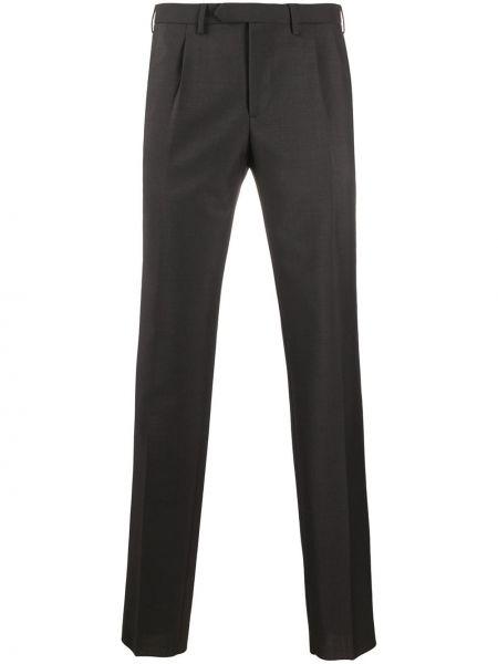 Зауженные брюки с поясом бязевые Dell'oglio