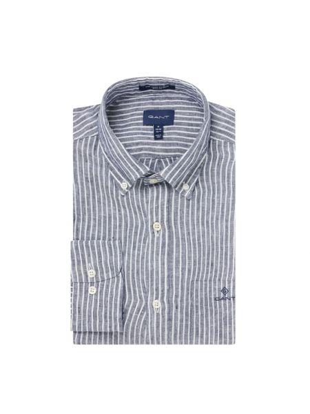 Koszula z długim rękawem w paski z paskami Gant