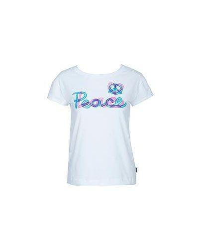 Белая футболка хлопковая Moschino Love