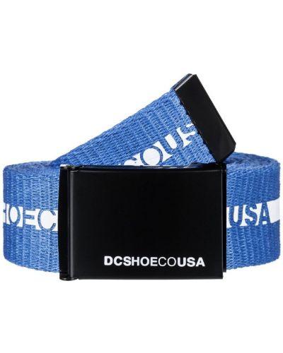 Синий ремень Dc Shoes