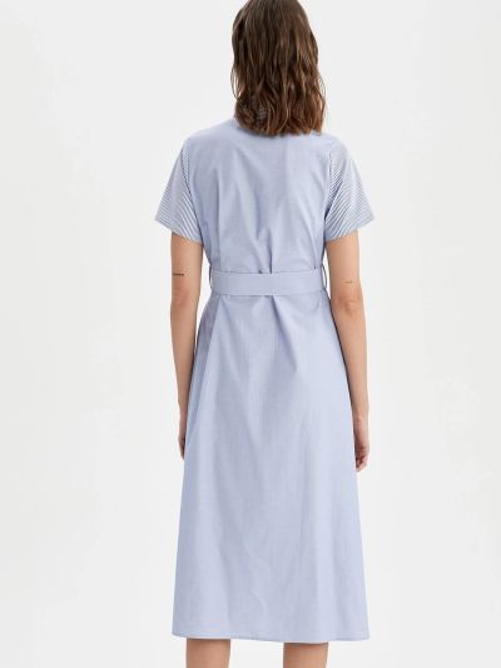 Платье - голубое Defacto