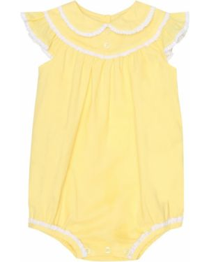 Żółty body bawełniany Rachel Riley