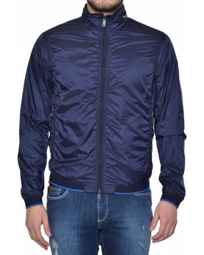 Синяя ветровка Armani Jeans