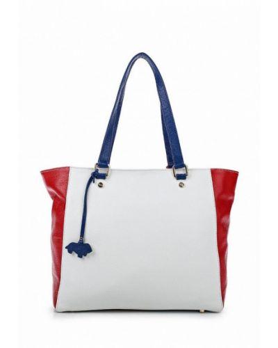Белая сумка шоппер Labbra