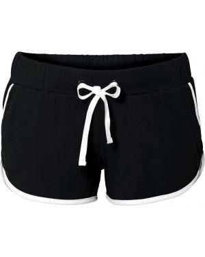 Спортивные шорты черные пляжные Bonprix