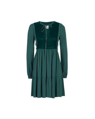 Зеленое повседневное платье Pinko