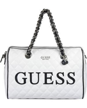 Кожаная сумка Guess