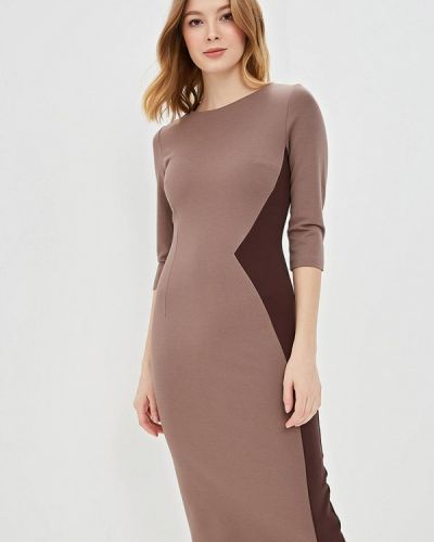Платье - коричневое Olga Skazkina