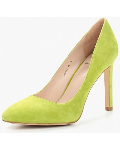 Зеленые туфли-лодочки Ekonika