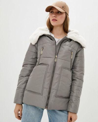 Утепленная куртка - серая Modniy Oazis
