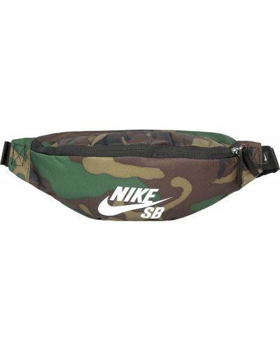Спортивная сумка поясная камуфляжная Nike
