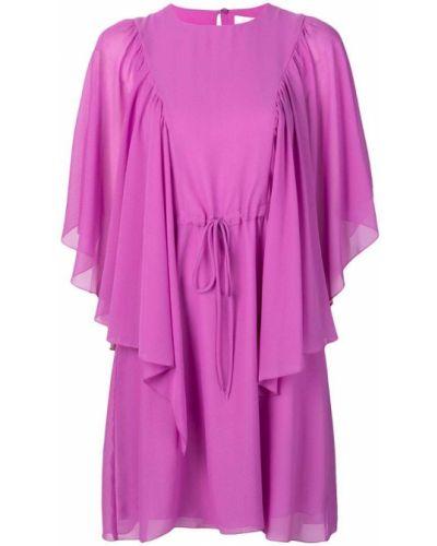 Платье розовое с вырезом See By Chloé