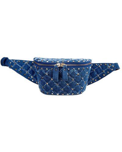 Поясная сумка с пряжкой городская Valentino
