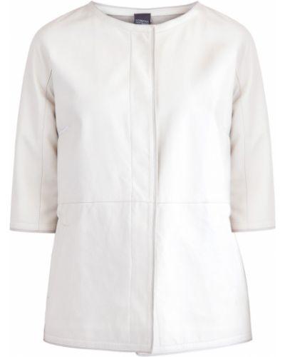 Кожаная куртка нейлоновая с карманами Lorena Antoniazzi