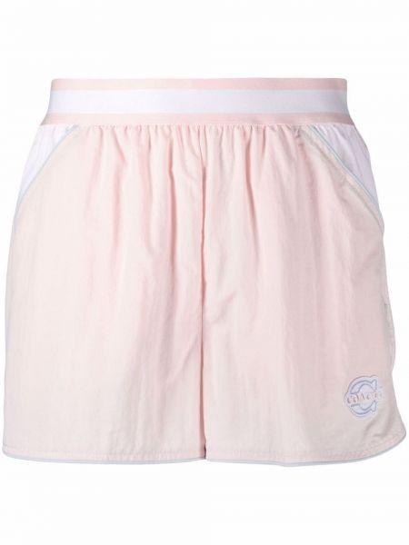 Шорты с карманами - розовые Coach