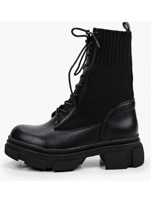 Черные ботинки из искусственного меха La Bottine Souriante