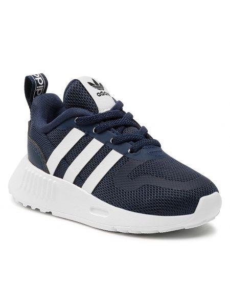 Półbuty granatowe Adidas
