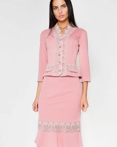 Юбочный костюм розовый Sugarlife