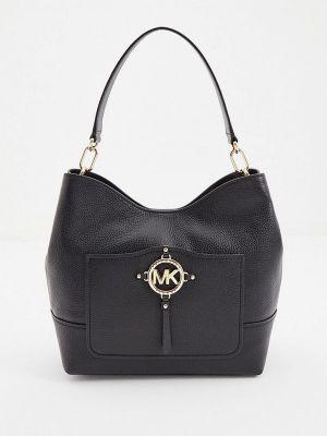 Черная кожаная сумка Michael Michael Kors