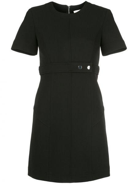 Платье мини на молнии с вырезом Alc