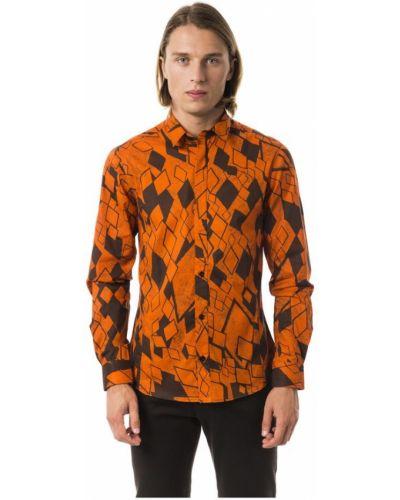 Pomarańczowa koszula Byblos