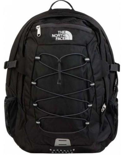 Czarny plecak na laptopa z nylonu The North Face