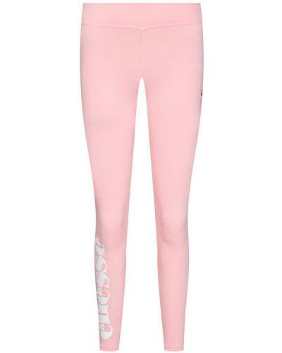 Różowe legginsy Ellesse