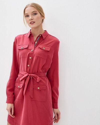 Платье розовое платье-рубашка Aelite