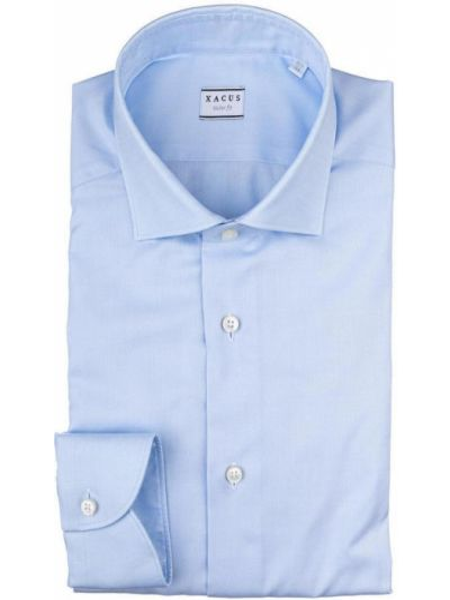 Niebieska koszula Xacus